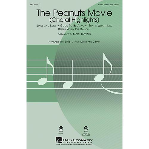 Hal Leonard The Peanuts Movie (Choral Highlights) SAB arranged by Mark Brymer-thumbnail