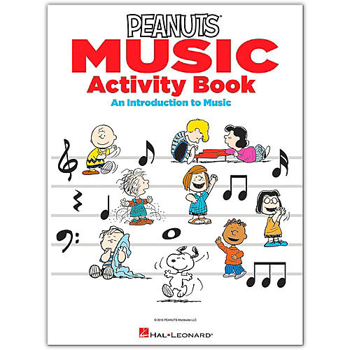 Hal Leonard The Peanuts Music Activity Book - An Introduction to Music