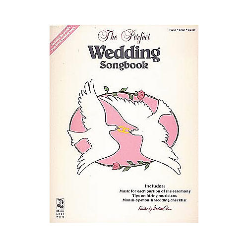Cherry Lane The Perfect Wedding Piano, Vocal, Guitar Songbook