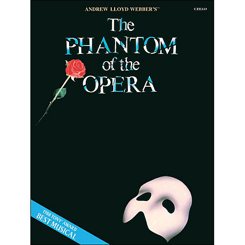 Hal Leonard The Phantom Of The Opera for Cello