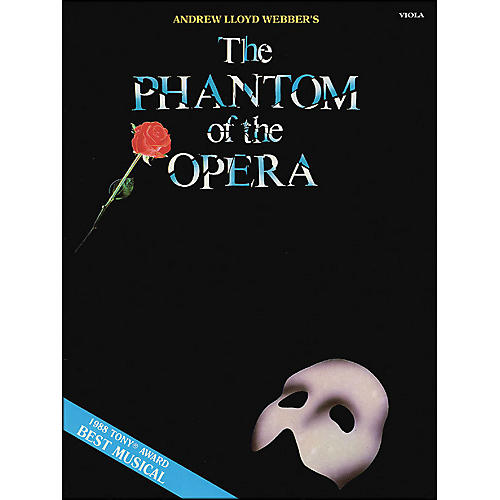 Hal Leonard The Phantom Of The Opera for Viola