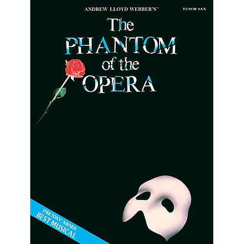 Hal Leonard The Phantom of the Opera (Instrumental Solos for Tenor Sax) Instrumental Solo Series-thumbnail
