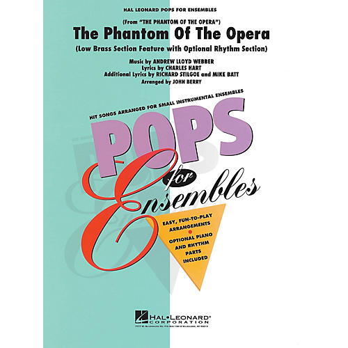 Hal Leonard The Phantom of the Opera (Low Brass Ensemble (opt. rhythm section)) Concert Band Level 2.5 by John Berry-thumbnail