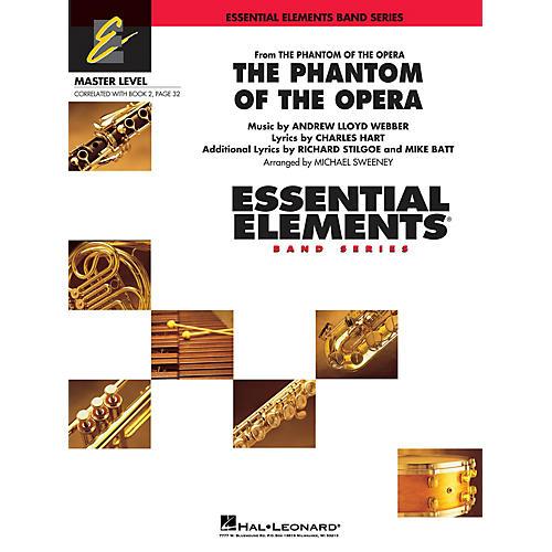 Hal Leonard The Phantom of the Opera (Main Theme) Concert Band Level 2 Arranged by Michael Sweeney-thumbnail