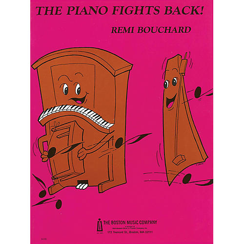 Boston Music The Piano Fights Back! Music Sales America Series Softcover-thumbnail