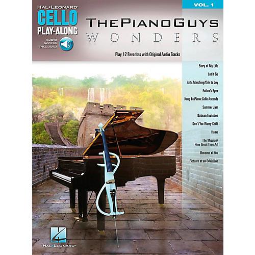 Hal Leonard The Piano Guys - Wonders Cello Play-Along Volume 1-thumbnail