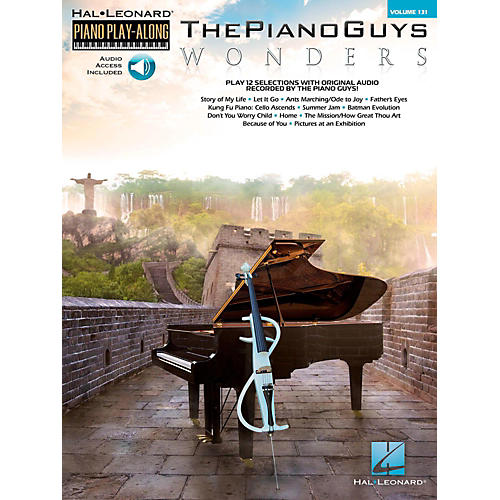 Hal Leonard The Piano Guys - Wonders Piano Play-Along Volume 131 Book/Online Audio