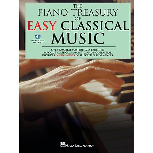 Music Sales The Piano Treasury of Easy Classical Music Music Sales America Series Softcover with CD