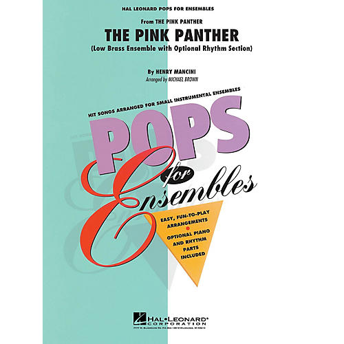 Hal Leonard The Pink Panther (Low Brass Ensemble (opt. rhythm section)) Concert Band Level 2-3 by Michael Brown-thumbnail