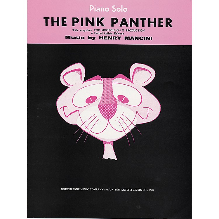 Alfred The Pink Panther Piano/Vocal/Chords Sheet