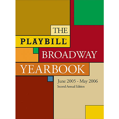Applause Books The Playbill Broadway Yearbook Playbill Broadway Yearbook Series Hardcover-thumbnail