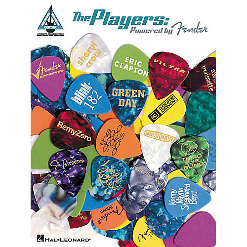 Hal Leonard The Players Powered by Fender Guitar Tab Book-thumbnail