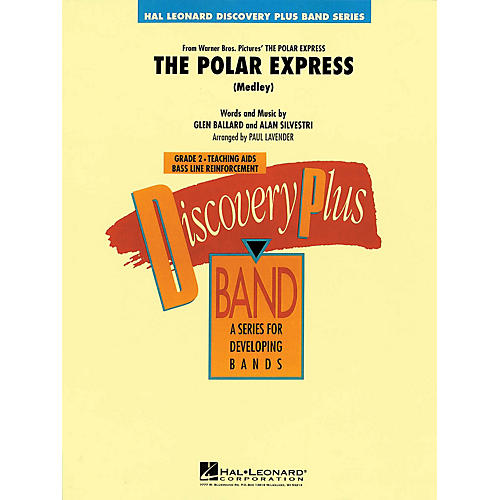 Hal Leonard The Polar Express (Medley) - Discovery Plus Concert Band Series Level 2 arranged by Paul Lavender-thumbnail