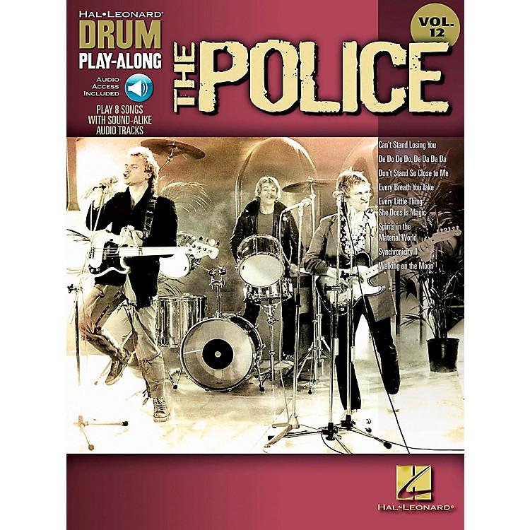 Hal LeonardThe Police - Drum Play-Along Volume 12 Book/CD