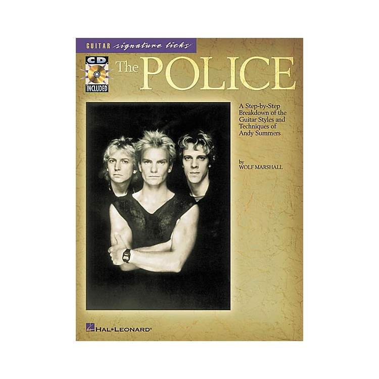 Hal Leonard The Police Guitar Signature Licks Book with CD
