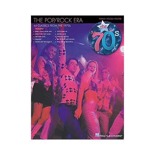 Hal Leonard The Pop/Rock Era The '70s Piano, Vocal, Guitar Songbook-thumbnail