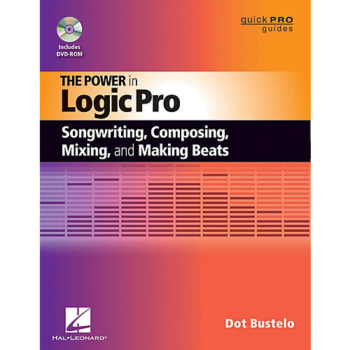 Hal Leonard The Power In Logic Pro Songwriting, Composing, Remixing, And Making Beats Book/DVD-ROM-thumbnail