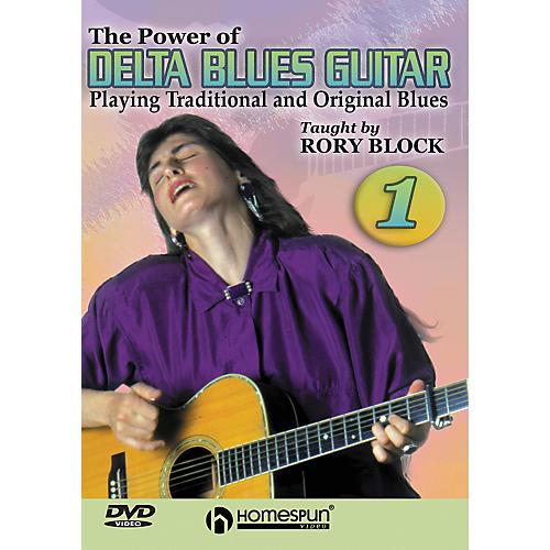 Homespun The Power of Delta Blues Guitar 1 (DVD)-thumbnail