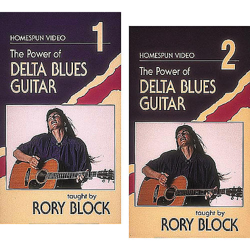 Homespun The Power of Delta Blues Guitar 2-Video Set (VHS)-thumbnail