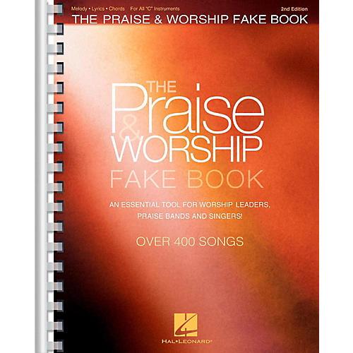 Hal Leonard The Praise & Worship Fake Book - 2nd Edition (C Instruments)