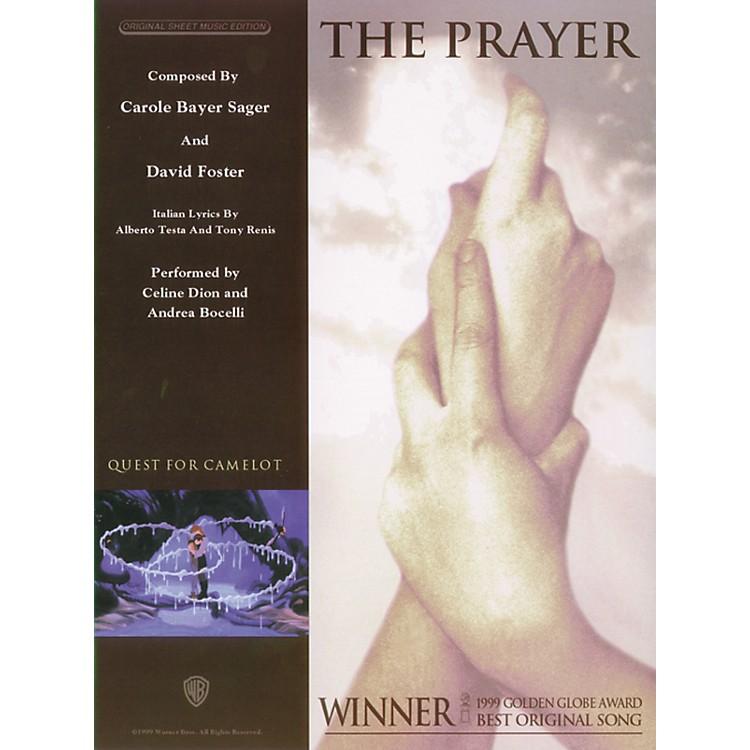 AlfredThe Prayer P/V/C Sheet