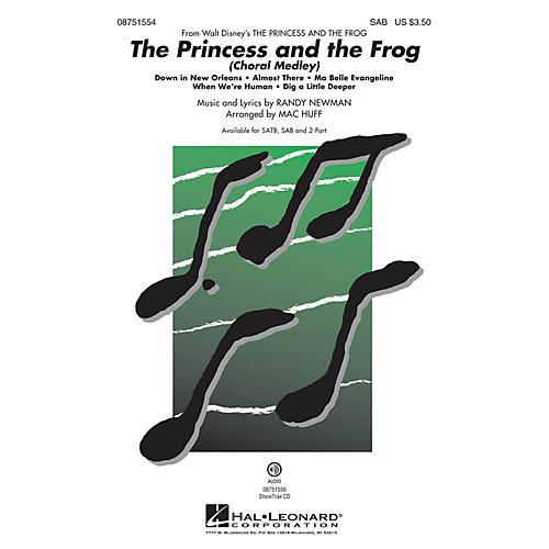 Hal Leonard The Princess and the Frog (Choral Medley) SAB arranged by Mac Huff