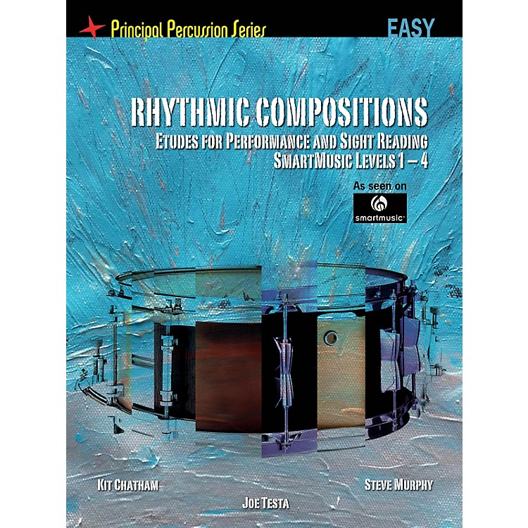 Hal LeonardThe Principal Percussion Series Easy Level - Rhythmic Comp - Etudes for Perf and Sight Reading