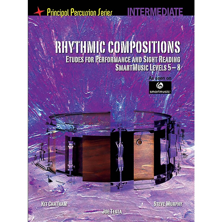 Hal LeonardThe Principal Percussion Series Inter Level - Rhythmic Comp - Etudes for Perf and Sight Reading