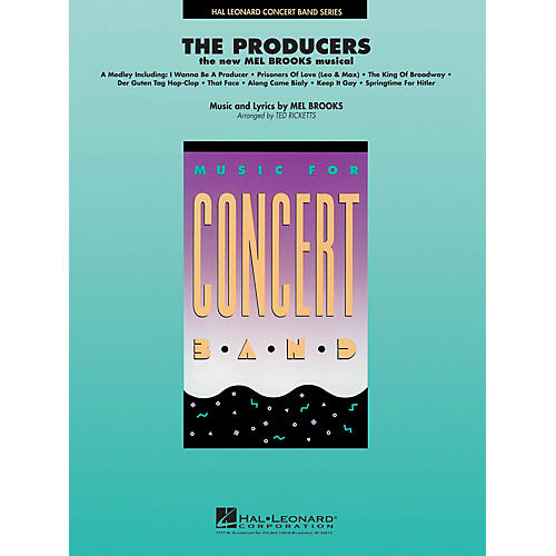 Hal Leonard The Producers Concert Band Level 4 Arranged by Ted Ricketts-thumbnail