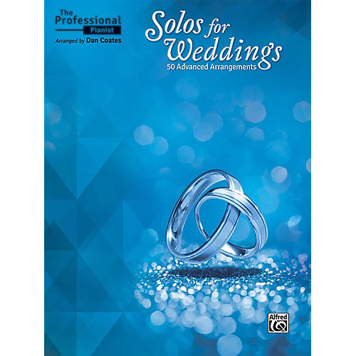 Alfred The Professional Pianist - Solos for Weddings Book Advanced Songbook-thumbnail