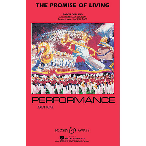 Hal Leonard The Promise Of Living - Marching Band (performance Series) Full Score Concert Band-thumbnail