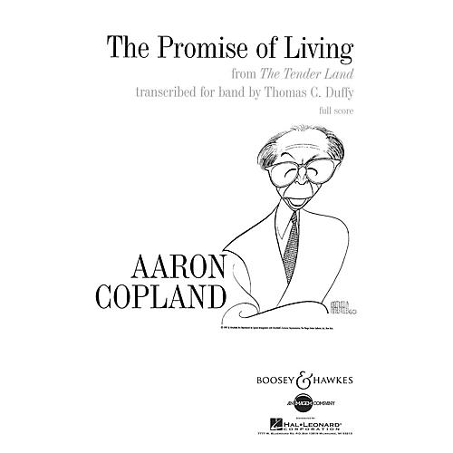 Boosey and Hawkes The Promise of Living (from The Tender Land) Concert Band by Aaron Copland Arranged by Thomas C. Duffy-thumbnail