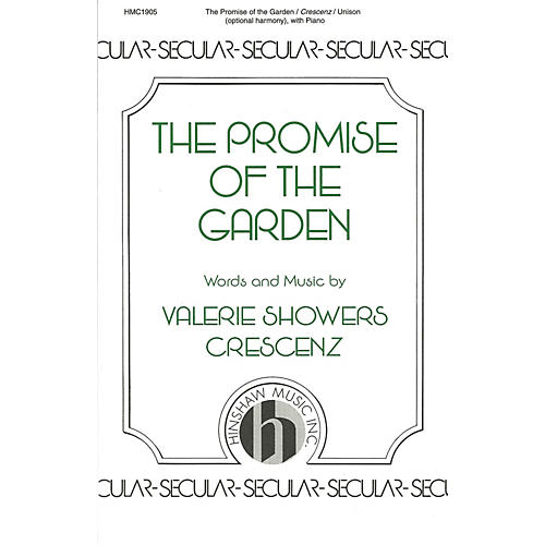 Hinshaw Music The Promise of the Garden UNIS composed by Valerie Crescenz-thumbnail
