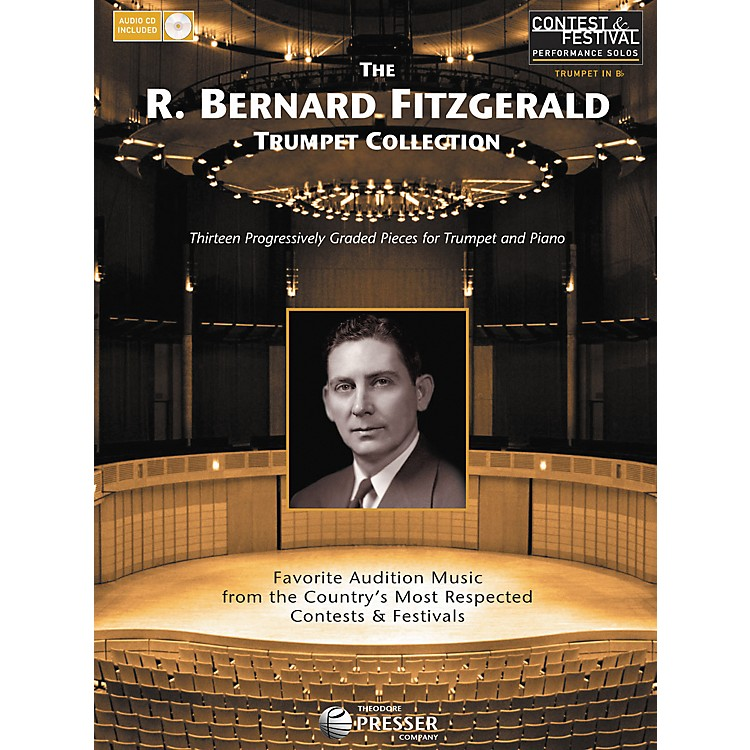 Carl Fischer The R. Bernard Fitzgerald Trumpet Collection Book/CD