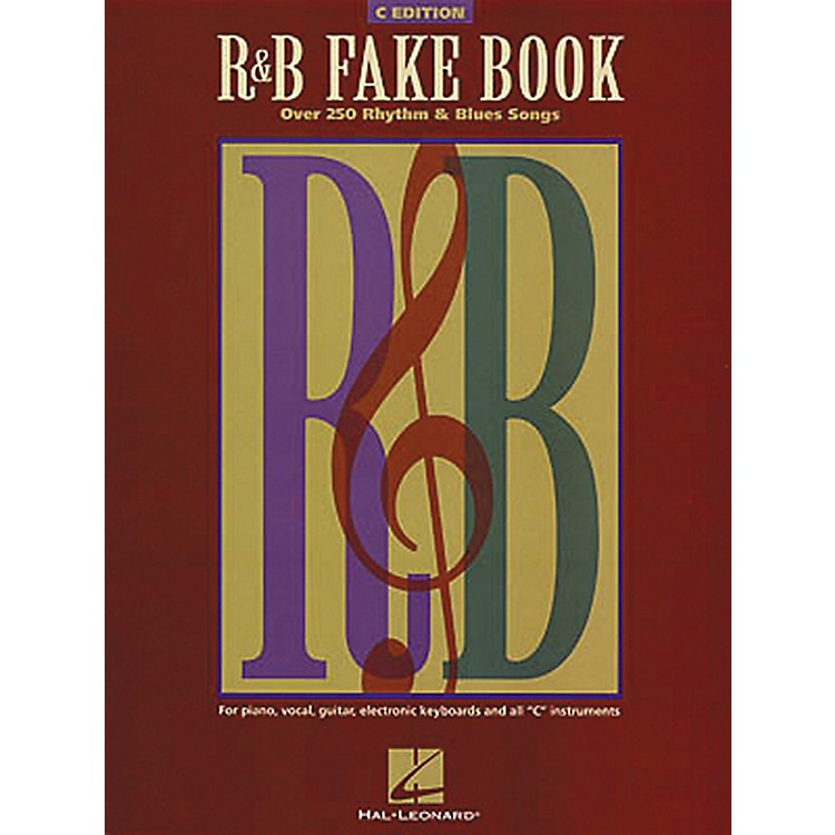 Hal Leonard The R&B Fake Book - C Edition
