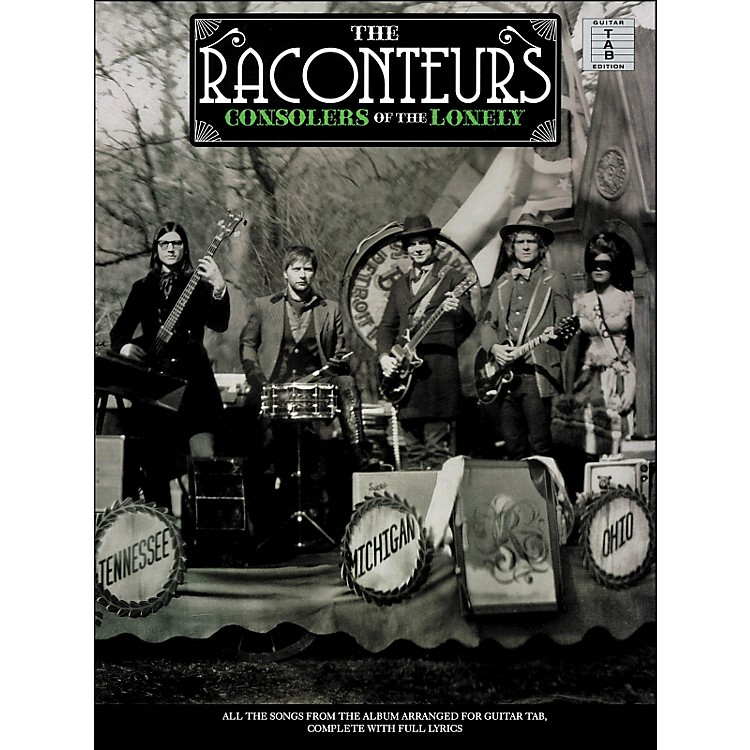 Hal Leonard The Raconteurs - Consolers Of The Lonely Tab Book
