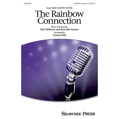Shawnee Press The Rainbow Connection SAATBB by Kermit The Frog arranged by Casey Kidd-thumbnail