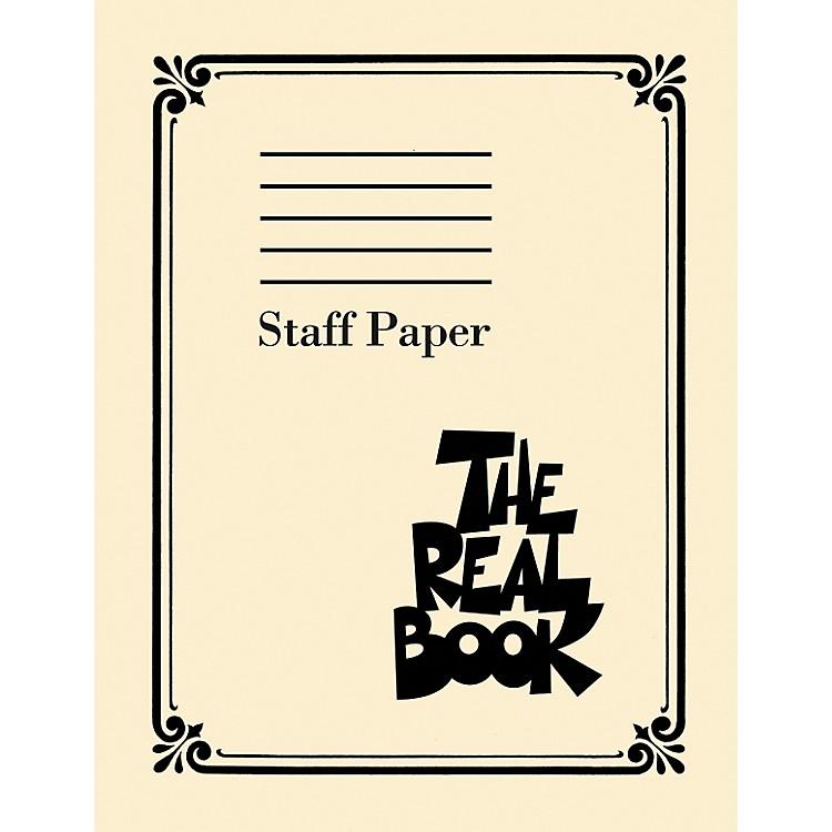 Hal LeonardThe Real Book - Staff Paper