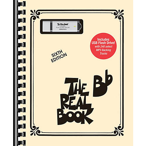 Hal Leonard The Real Book - Volume 1 Real Book Play-Along Series Softcover with USB-thumbnail