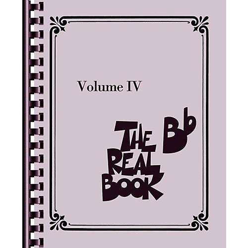 Hal Leonard The Real Book - Volume 4 (B Flat Edition)-thumbnail