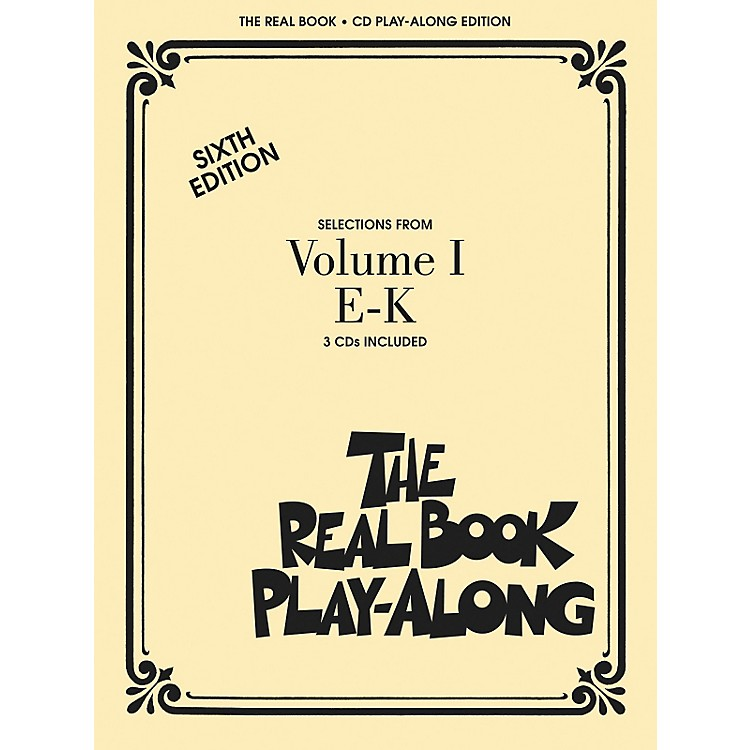 Hal LeonardThe Real Book Play-Along (3-CD Set)E thru K
