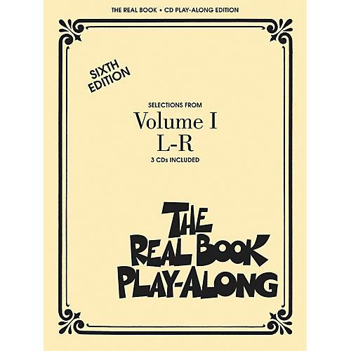 Hal Leonard The Real Book Play-Along (3-CD Set) L thru R