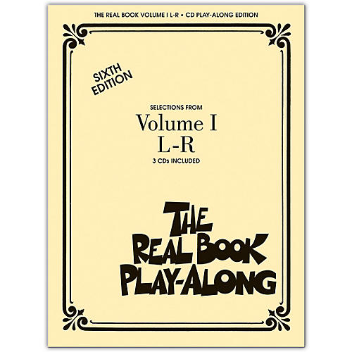 Hal Leonard The Real Book Play-Along (3-CD Set) L thru R-thumbnail
