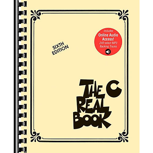 Hal Leonard The Real Book Play-Along Volume 1 (Sixth Edition) Book/Audio Online-thumbnail