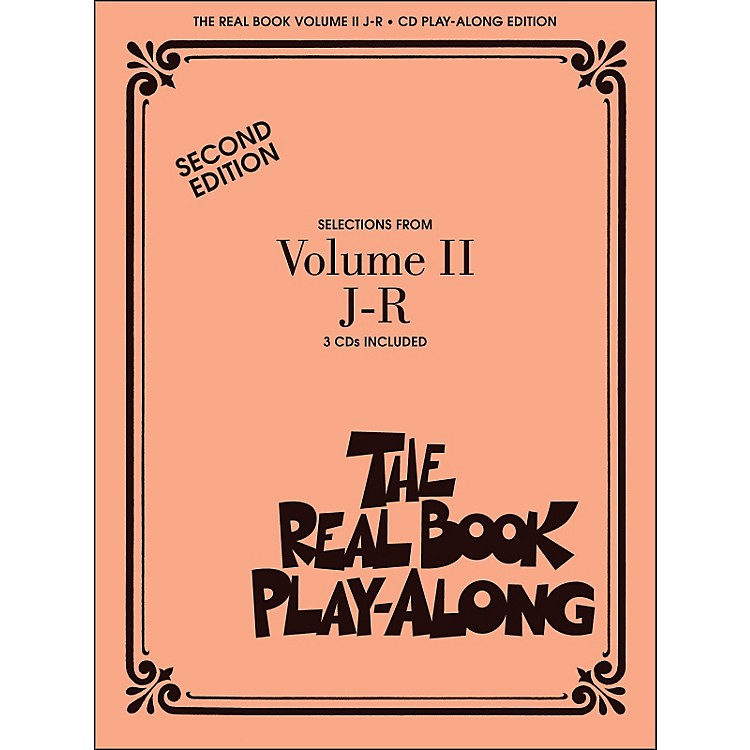 Hal Leonard The Real Book Play Along Volume 2 J-R (3-CD Pack)