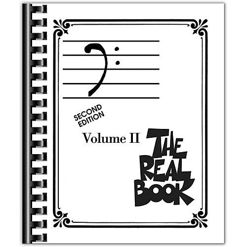 Hal Leonard The Real Book Volume 2 - C Edition Bass Clef Edition-thumbnail