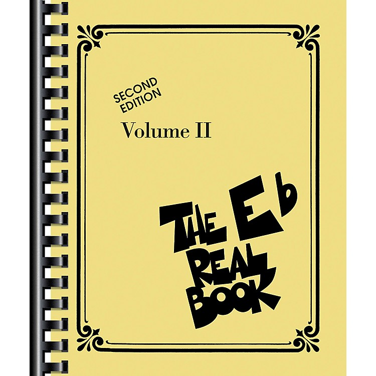 Hal Leonard The Real Book Volume 2 - C Edition Eb Edition