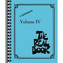 Hal Leonard The Real Book Volume 4 (C Edition) - Fake Book