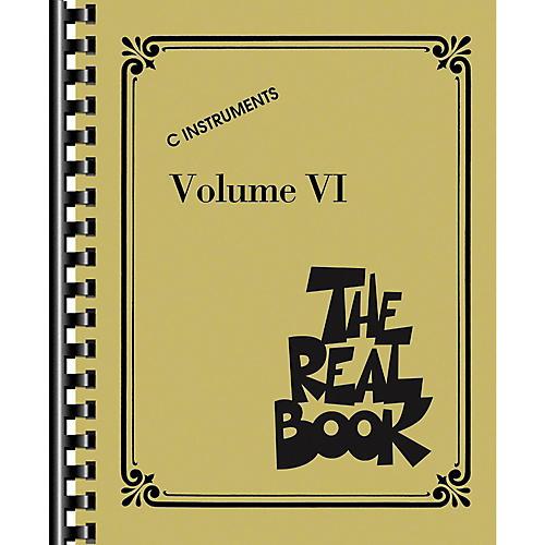 Hal Leonard The Real Book Volume 6 - C Edition-thumbnail
