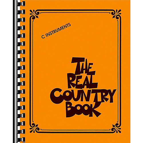 Hal Leonard The Real Country Book - C Edition
